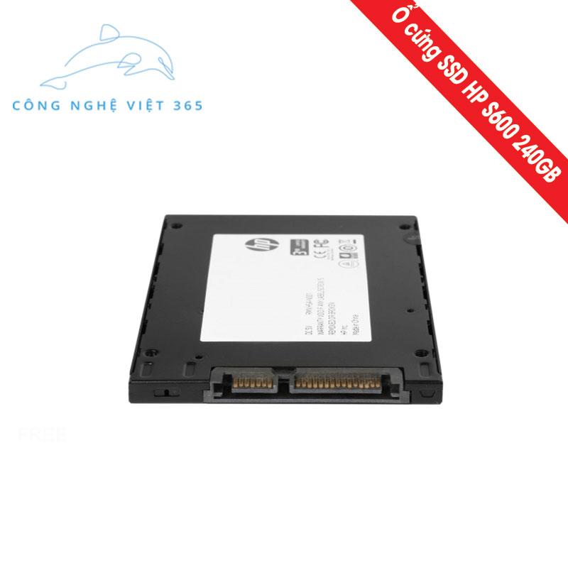 Ổ cứng SSD HP S600 240GB - Chính hãng giá chỉ 1 199 000VNĐ