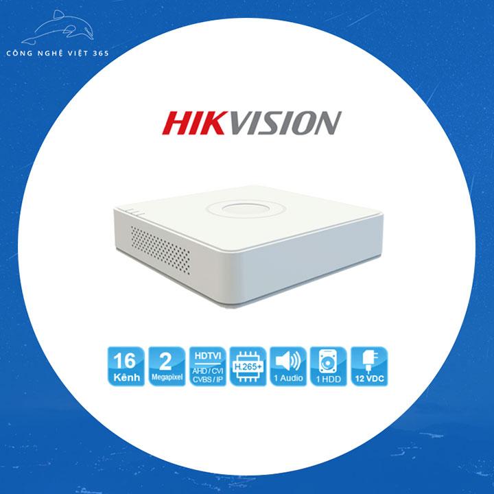 Đầu ghi Hikvision 16 Kênh 7116 HQHI K1